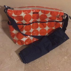 Beautiful Kate Spade Diaper Bag with Pad